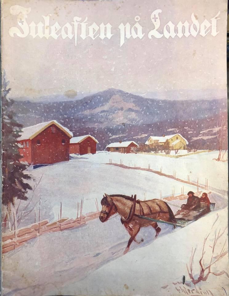 Juleaften på landet 1934